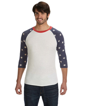 Alternative Men's Baseball Eco-Jersey T-Shirt