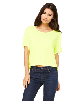 Bella Ladies' Flowy Boxy T-Shirt
