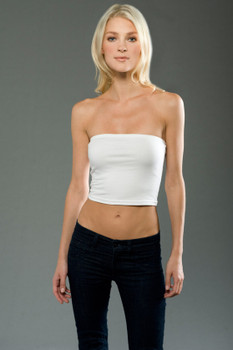 Cotton Spandex Jersey Tube Top