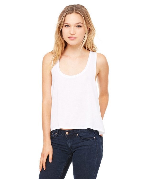 Bella Ladies Flowy Boxy Tank