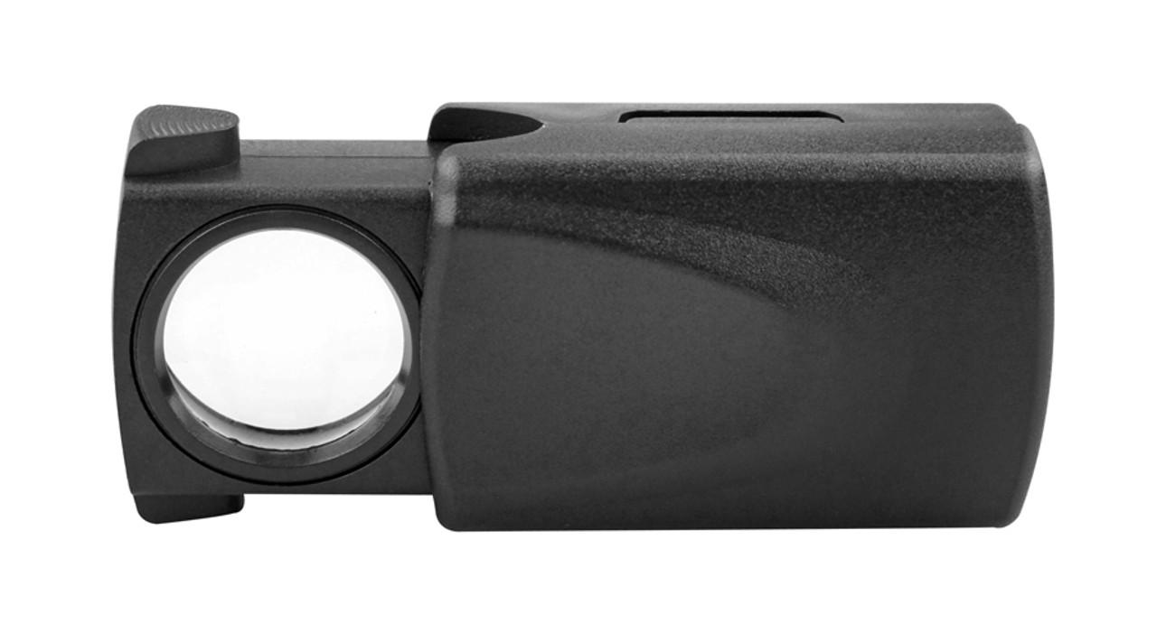 Lighted Magnifier 10X Pocket Magnifier , fls-LSM10X