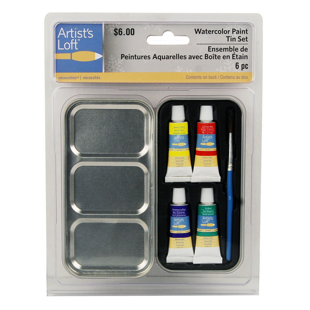 Watercolor Paint Tin Set Giveaway Novelty Gift (AS-531943)