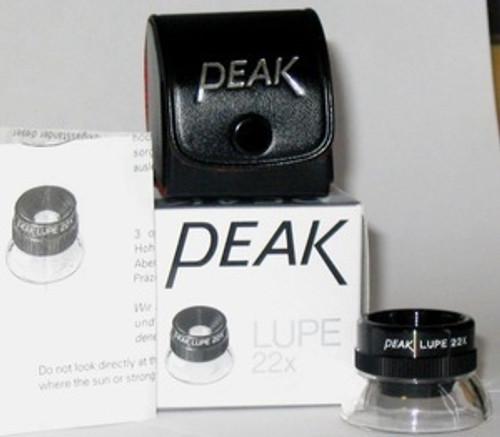 20X Magnifier , Triplet , Inspection , Eye Loupe , 22X Peak 1964 , 1964-22X