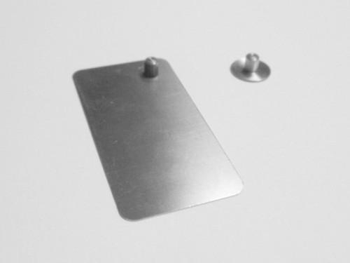 Plate Press Punch, Registration Pins, Burgess Register, FLS, Pin 12 pk , reg-pin-burg