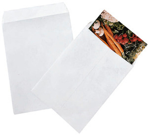 Tyvek Jumbo Envelopes , White Large flap-stick 18 x 23 qty 25 , ET18X23-25