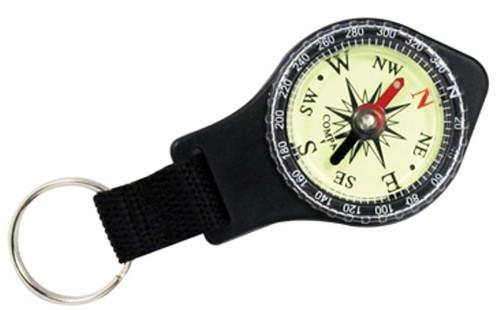Black Compass Keychain - Glows , cs-GLWCPS