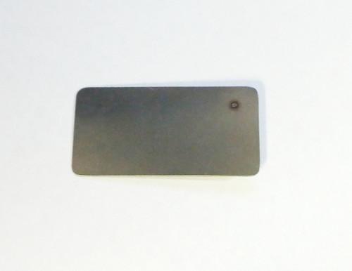 Flat back spot welded registration pin by FLS, reg-pin-AD back