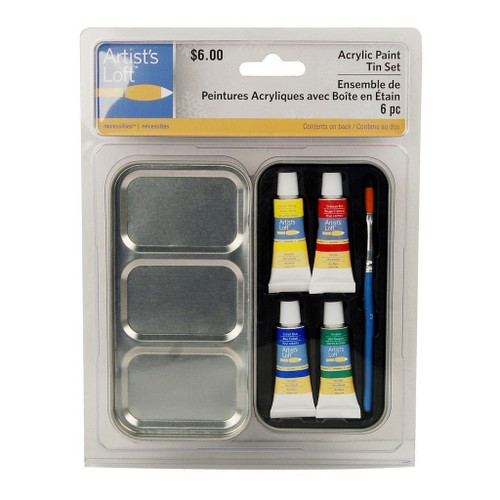 Acrylic Paint Tin Set Giveaway Novelty Gift (AS-531944)