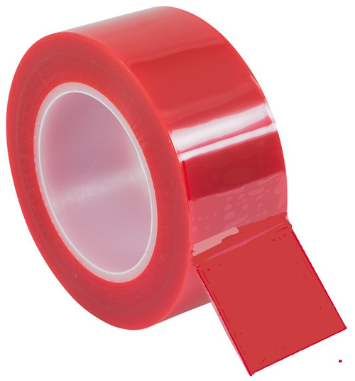 """Electro plating process tape 3/4"""" x 72 yd Red (fls-M717-281-.75), 19.05mm"""