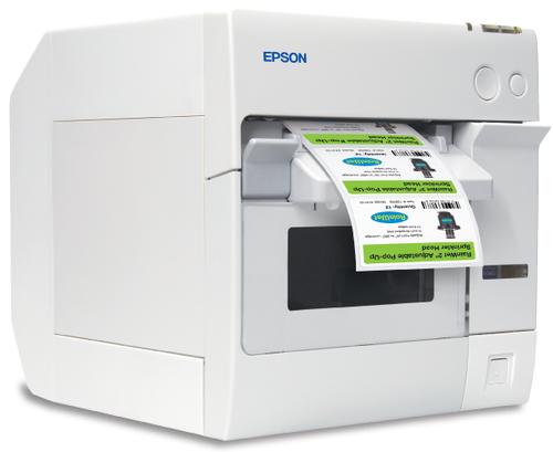 Epson ColorWorks TM C3400 031 Color Label Printer Ethernet