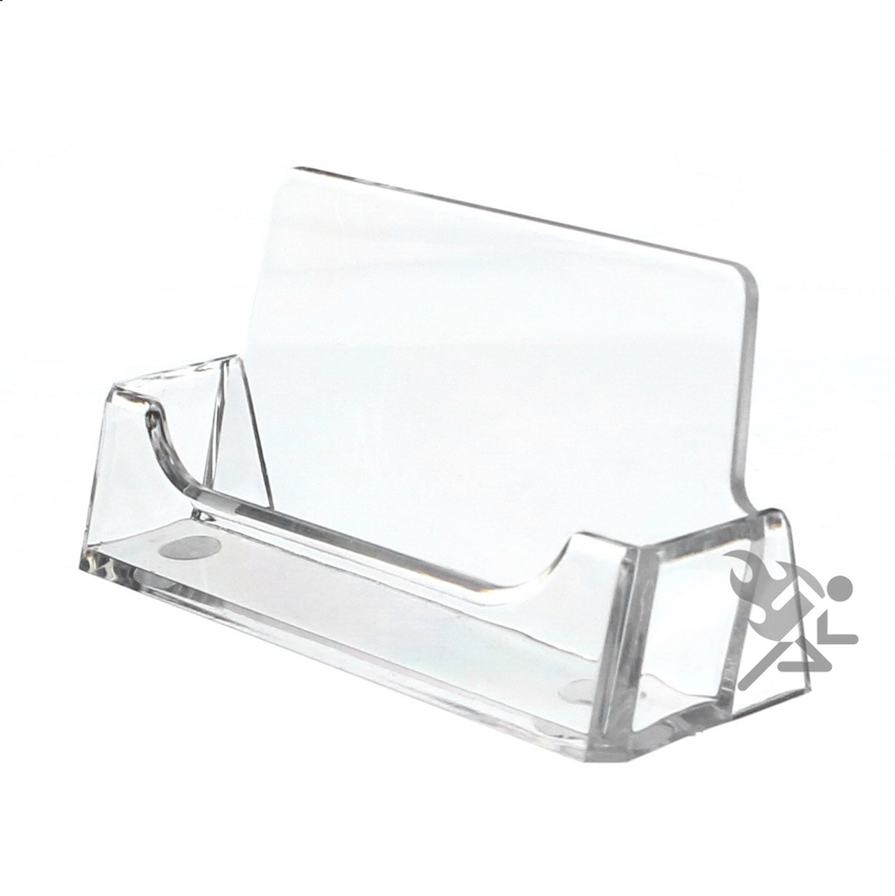 Clear Business Card Display Stand Holders | OnFireGuy