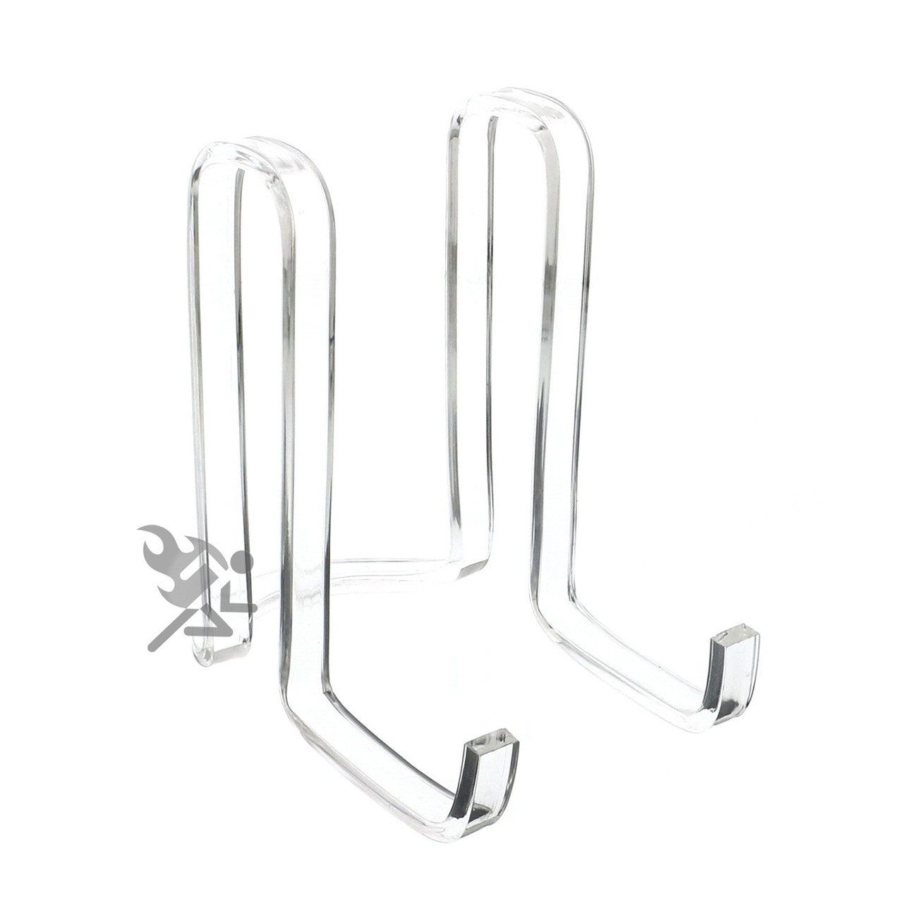 sc 1 st  OnFireGuy & Clear Acrylic Plate Display Stand 6\