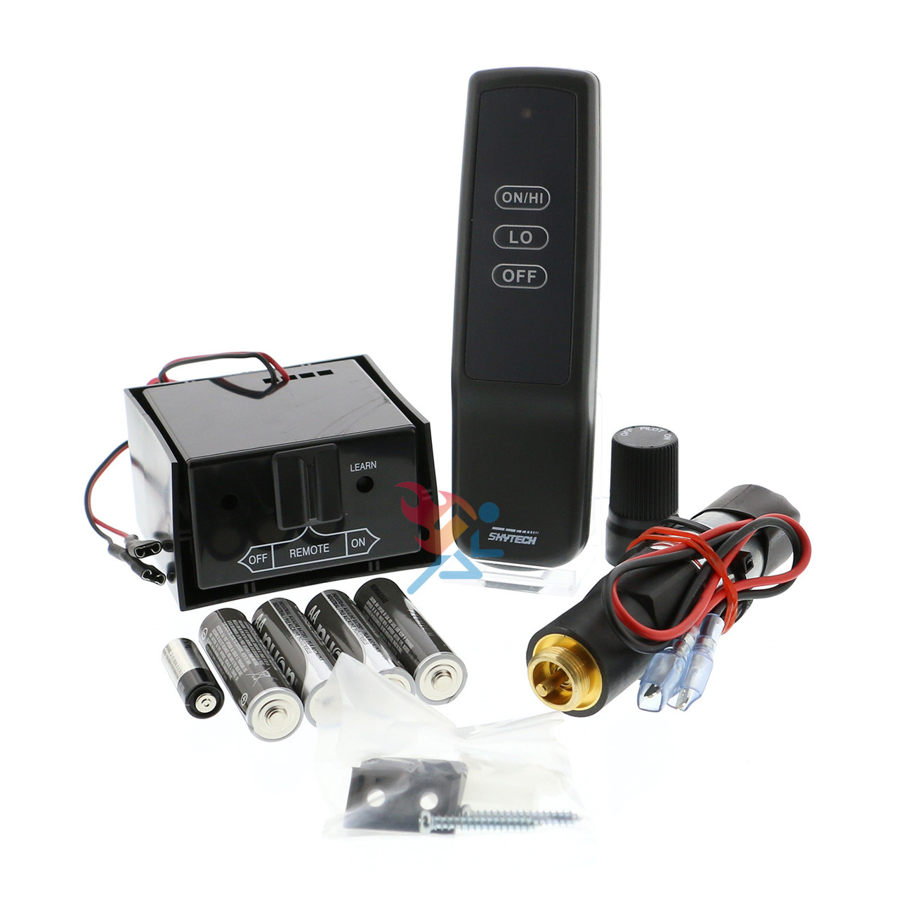 fireplaces control remote myfireplaceblower kit skytech for fireplace thermostat gas controls ts com