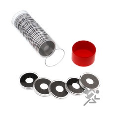 Air-Tite 11mm Coin Capsule Holders & Tube