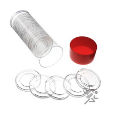 Air-Tite H27 Coin Capsules & Tube for 1/2oz Gold Eagles