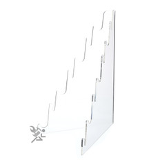 Clear Acrylic Multi Tier Knife Display Stand Holds 7 Knives