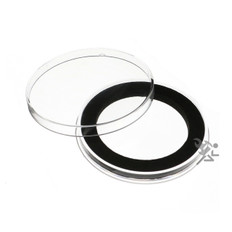 Air-Tite Y49mm Black Ring Coin Capsules