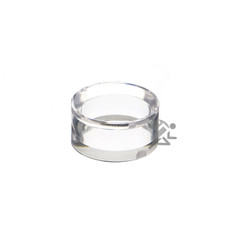 """1"""" x 1/2"""" Acrylic Beveled Ring Display Stands"""