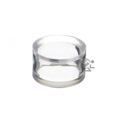 """1-1/4"""" x 3/4"""" Acrylic Beveled Ring Display Stands"""