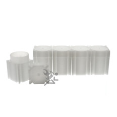 CoinSafe Brand Square Half Dollar Coin Tubes