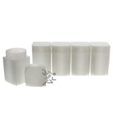 CoinSafe Brand Square Silver Eagle Coin Tubes