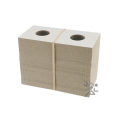 Cardboard & Mylar 2x2 Penny/Cent Coin Flips Qty: 100
