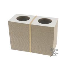 Cardboard & Mylar 2x2 Half Dollar Coin Flips Qty: 100