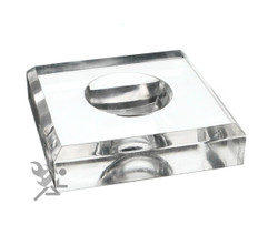 "Jumbo 3"" Square Dimple Block Display Stand"