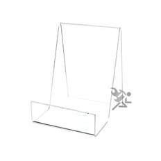 "5.5"" Book Display Stand Easel with 2"" Resting Shelf"