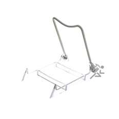"Plate Display Stand Easels, 4-1/2"" Adjustable Wire Holder"