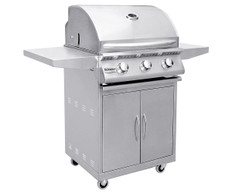 "Summerset Sizzler 26"" Gas Grill & Cart"