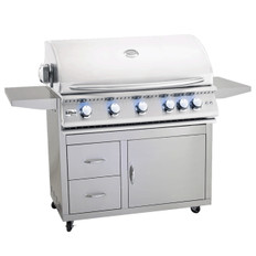 "Summerset Sizzler PRO 40"" Gas Grill & Cart"