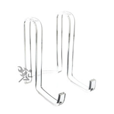 """Clear Acrylic Plate Display Stand, 6"""" Ribbon Easels"""