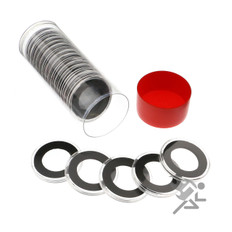 Air-Tite 26mm Coin Capsules & Tube for Presidential Dollars