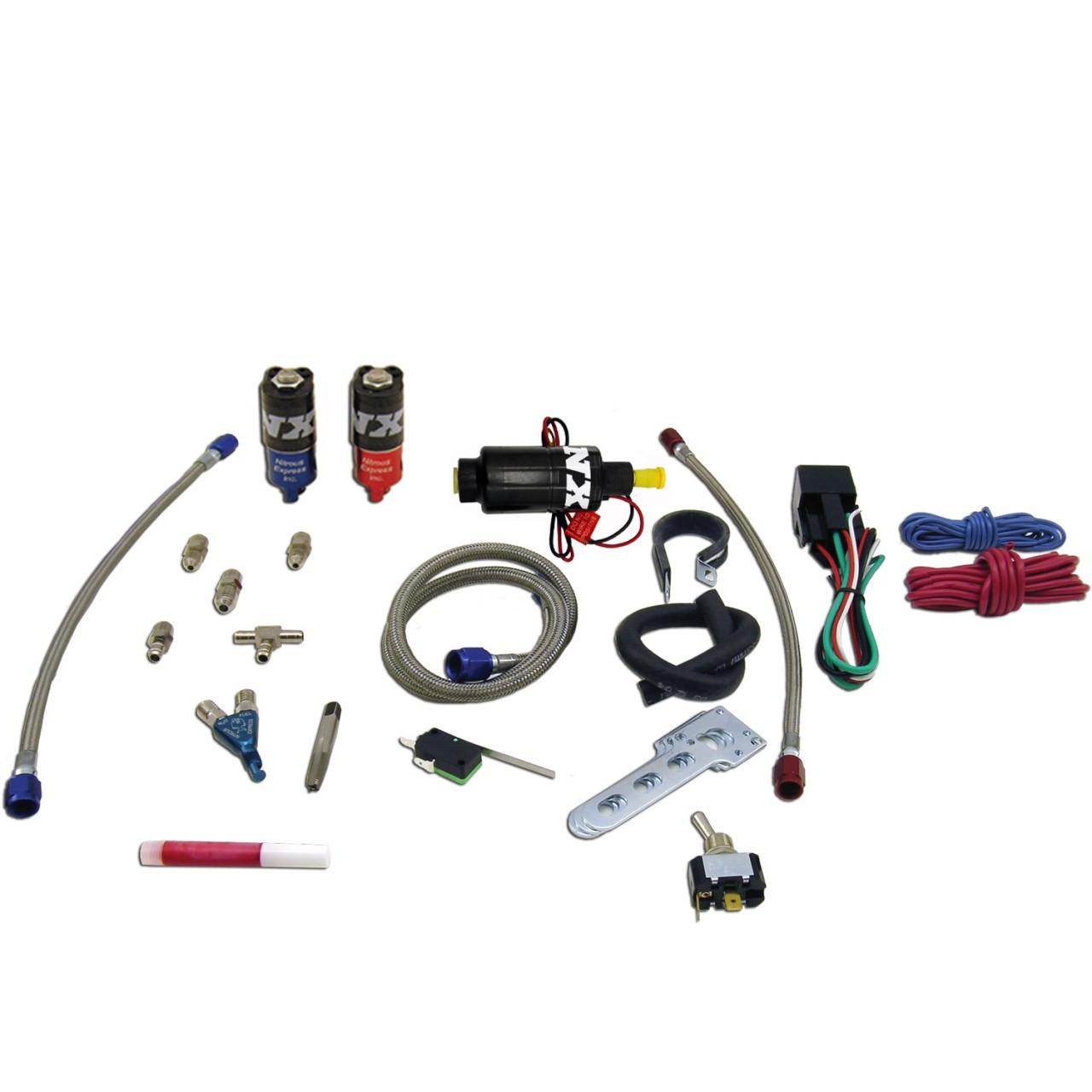 Nx V Twin Piranha Wet Nitrous Kit Wiring Diagram For Harley Davidson W No Bottle