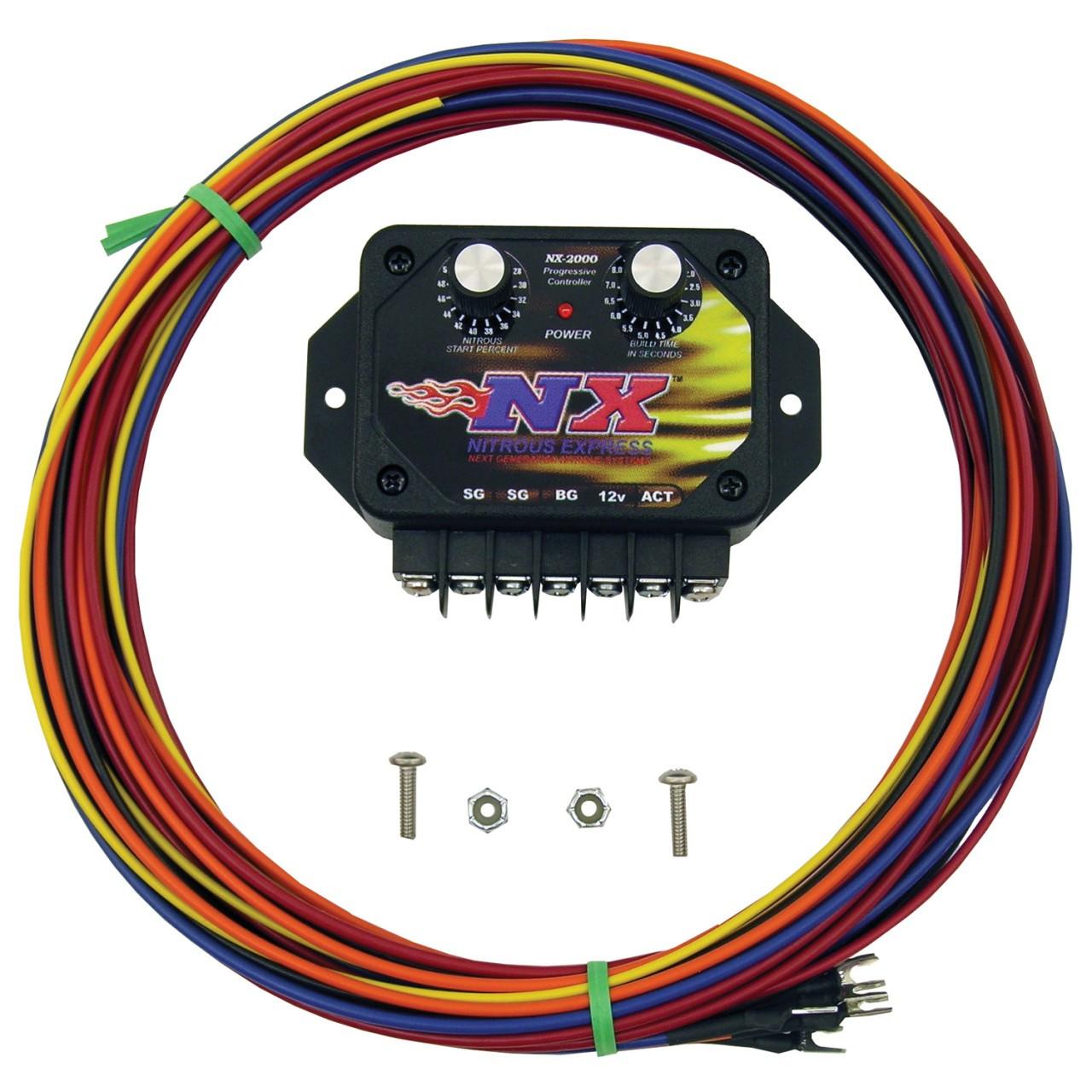 ... nx 2 dial progressive nitrous controller edelbrock nitrous controller  installation Edelbrock Nitrous Controller Wiring #42