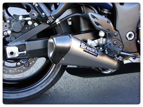 Suzuki Hayabusa Exhaust Systems - Schnitz Racing