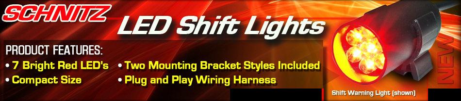 Schnitz LED Shift Lights
