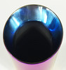 W40012-300-DWB Stainless Steel Burned Color Purple Outlet end