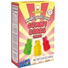 Mr Candy Baker Make Your Own Gummy Bears Kit. Gummy Bear Mix and Mold included.