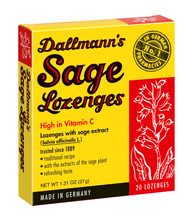 Dallmann's Sage Lozenges