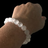 8mm Selenite bracelet