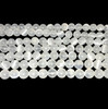 8mm Selenite beads