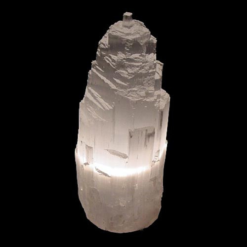 Selenite Empire Lamp-Med