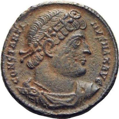 Bronze roman coin
