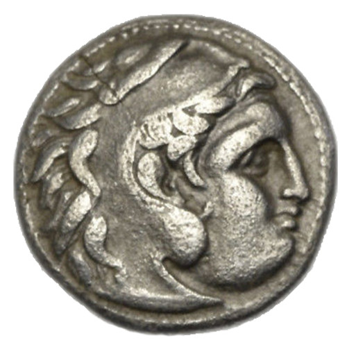 Alexander the great silver coin