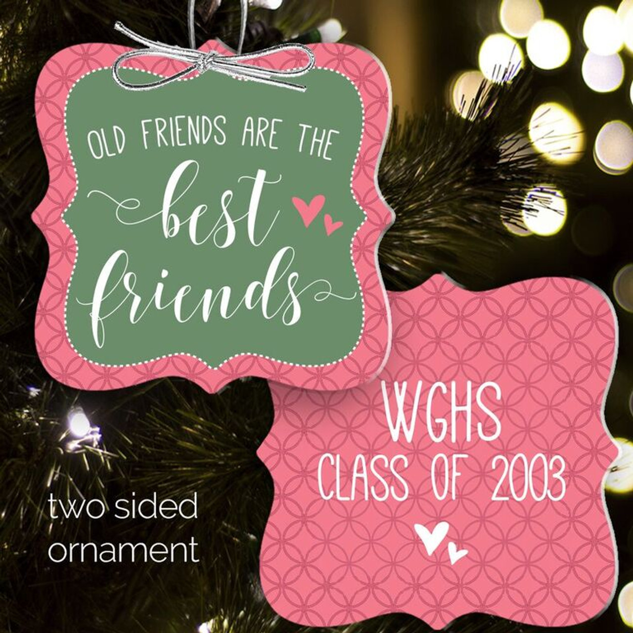best friends christmas ornament - Best Friend Christmas Ornaments