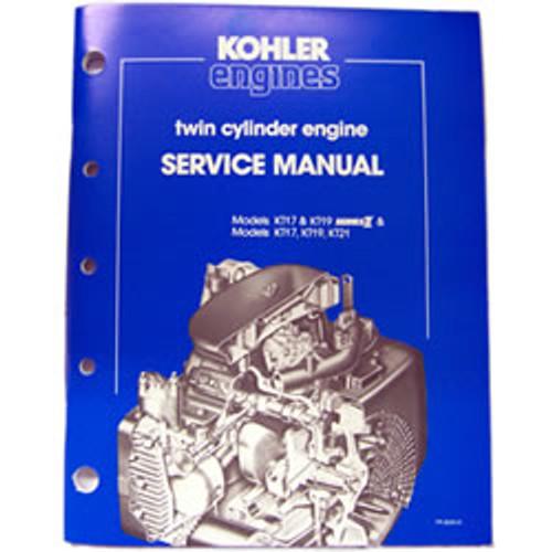 Kohler Twin Cylinder Engine Repair Manual TP-2043-A