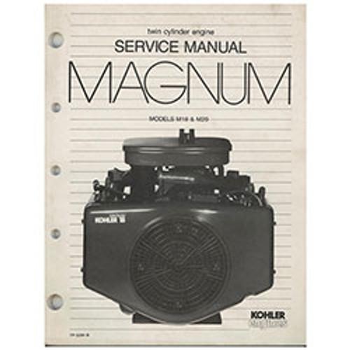 Kohler Twin Cylinder Magnum Engine Repair Manual TP-2204-B
