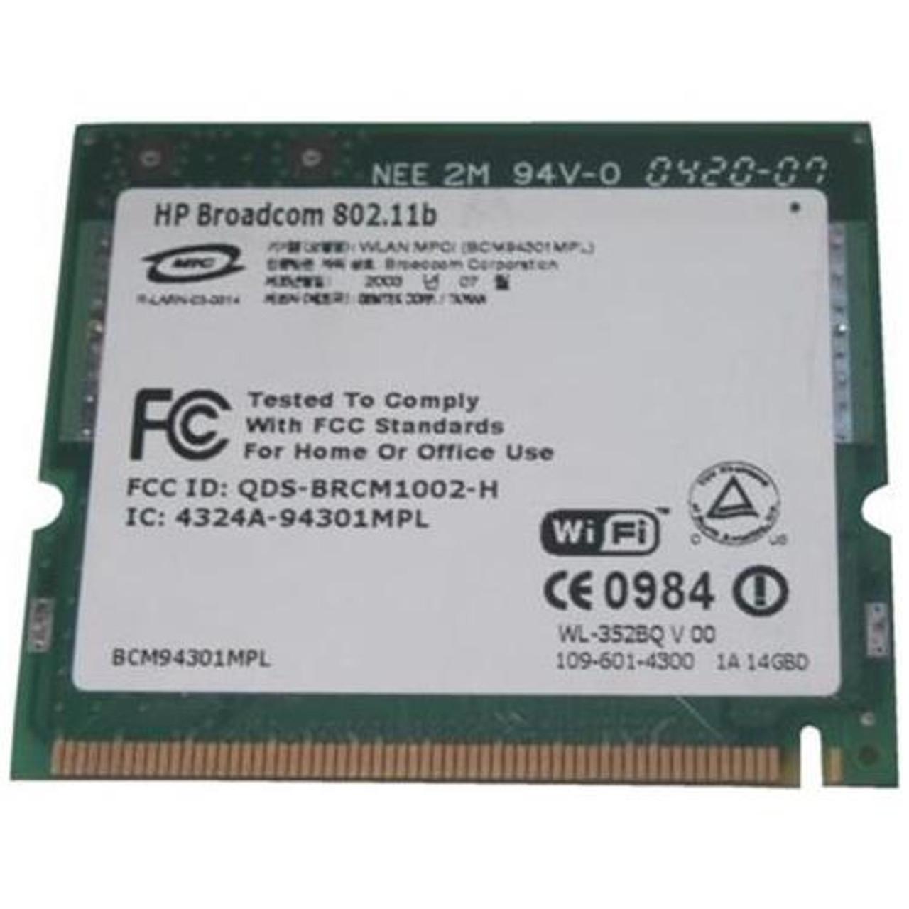 HP Mini 1100CM Broadcom WLAN Drivers Windows